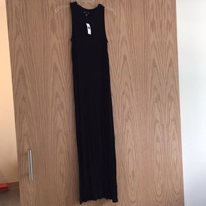 NWT Black GAP Maxi Dress